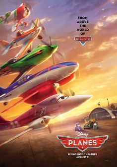 Planes poster would make a good backdrop for the table.