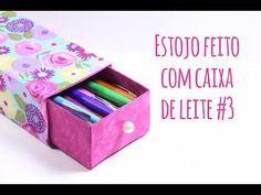 Estojo Feito com Caixa de Leite: https://www.youtube.com/watch?v=xSa7E... Estojo Feito com Caixa de Leite #2: https://www.youtube.com/watch?v=vlqQq... Mais d...