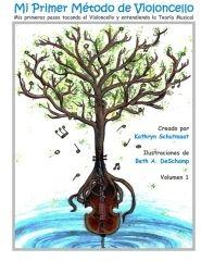 Mi Primer Método de Violoncello, Vol. 1