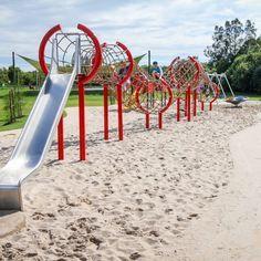 Modern Playground, Park Playground, Playground Design, Backyard Playground, Children Playground, Playground Ideas, Natural Playground, Backyard Ideas, Landscape Architecture