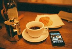 A Picture, of a picture, of coffee