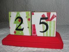 more Christmas blocks