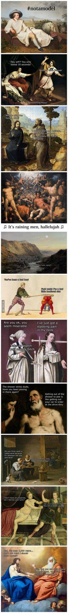 Classical Art Memes Latest (Part-6)