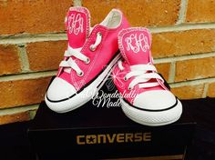 21e18bf928f6be Monogrammed Toddler Converse Colors Available  - Personalized Boys Converse  - Monogrammed Girls Converse - Toddler Shoes by on Etsy