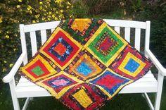 Cabin, Island, Blanket, Crochet, Challenge, Cabins, Islands, Ganchillo, Cottage