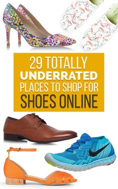 Take a break from Zappos and check out some of these lesser-known shops.