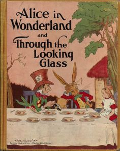 Alice in Wonderland & Through the Looking Glass were my favorite stories as a child. My mother says that when they would take me to Disneyland I would go on the Alice ride over and over again. It got to the point they wouldn't let me go on anymore. Still love Alice to this day!