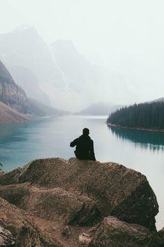 Moraine Lake, Alberta, Canada, by Jared Bautista.