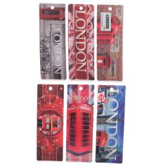 Ted Smith London Designs 3D Bookmarks #bookmark #LondonIcons #London #accessories #souvenirs #giftware