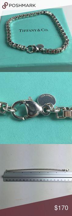 Tiffany & co Venetian bracelet Silver T&C Venetian bracelet 7.5 inches long weights 15.6 grams Tiffany & Co. Jewelry Bracelets