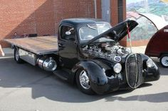 """A Ford 85 Truck that I saw """"For Sale"""" at a small country store in Overton County Tennessee. A Ford 85 Truck Hot Rod Trucks, Old Trucks, Semi Trucks, Classic Trucks, Classic Cars, Ford Pickup Trucks, Car Ford, Custom Trucks, Customised Trucks"""