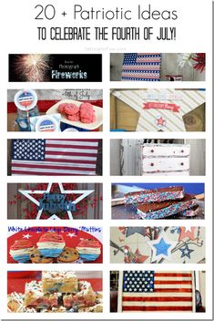 32 AMAZING Patriotic DIY Ideas, Recipes and Fireworks Photography Tips - Setting for Four