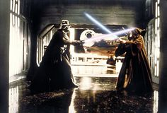 """""""Star Wars"""" (1977) light saber duel - saw it the first week it was out and was blown away."""