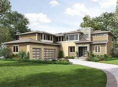 house plans prairie style on pinterest prairie style houses house