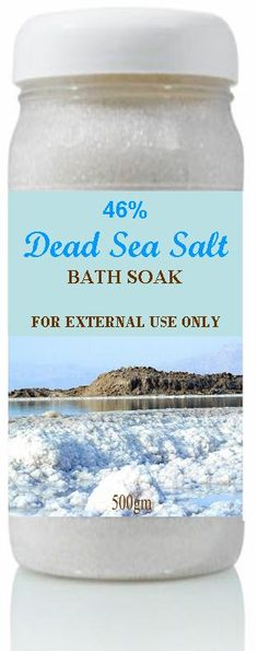 """Product Code : MG46P001  Product Name : Dead Sea Bath Salts Minimum Order : 5000 Units Price Per Unit : 3.52 US$ Packing : Container 500 gm Grade : 0+mm Crystals Dried Delivery : EXW """" Jordan """" Shipping : Cost will be added"""