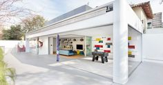 Children's Playhouse in Brazil Features Fun on Every Floor