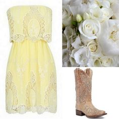 Yellow Bridesmaid Dress Ideas-Pale Yellow-If yellow is 1 of your main wedding colors, you will have an easy time pairing it with groomsmen suits, flowers Summer Wedding Outfits, Wedding Dresses 2018, Casual Wedding, Wedding Attire, Sparkly Bridesmaid Dress, Yellow Bridesmaid Dresses, Bridesmaid Flowers, Yellow Lace Dresses, Dress Lace