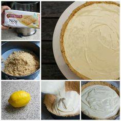 3 Ingredient No Bake Lemon Cheesecake