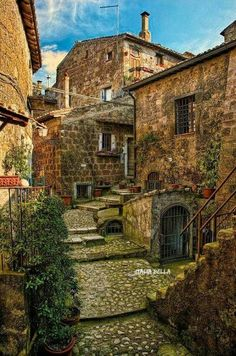 Calcata is a comune and town in the Province of Viterbo in the Italian region Latium, located 47 kilometres north of Rome Italy Vacation, Italy Travel, Italy Trip, Places To Travel, Places To See, Toscana Italia, Italy Landscape, Italy Holidays, Landscape Photography