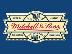 Mitchell And Ness Logo Concept  by Andrew Sterlachini