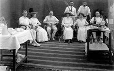 These photos are over 100 years old. They are from the British Imperial reign of India. This is a photo from a daily scene the Brits just relaxing at a tennis club. Lemonade is on the stand. Colonial India, British Colonial Style, How To Play Tennis, Tennis Party, History Of India, Uk History, British History, People Poses, Historical Monuments