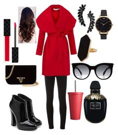 """""""Untitled #106"""" by sara-elizabeth-leonard on Polyvore featuring Givenchy, Keepsake the Label, Giuseppe Zanotti, Prada, Gucci, Cristabelle, Olivia Burton, Jaeger, Alexander McQueen and Red 23"""