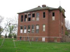 1911 Louisburg, Minnesota Abandoned  School House