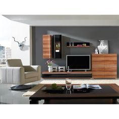 Freestyle Walnut Room Setting, Furniture Sale