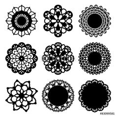 Vector: Decoration Doily