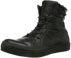 A.S.98 356210-2500-6002, Herren Combat Boots, Schwarz (nero), 46 EU (11 Herren UK)