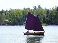 Puuvene luotsivene(saaristolaisvene) purjevene 2014 - Rauma ...