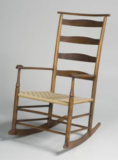 Philadelphia Museum of Art - Collections Object : Cushion-Rail Rocking Armchair