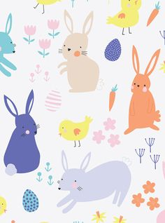 print & pattern: HAPPY EASTER! - see you on 24th April