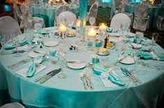 Cheap Tiffany Blue Tablecloth | band tiffany blue napkins and fellow tiffany blue cupcake holder bulk ...