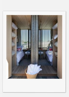Kristiansand Summer House | Heiberg Cummings Kristiansand, Modern Spaces, Girls Bedroom, Bunk Beds, Interior Architecture, My House, Beach House, Living Spaces, Cottage Bedrooms