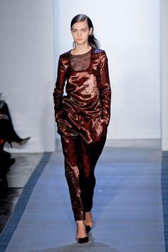 Peter Som, Fall 2012, New York Fashion Week.