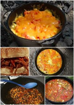 18 Best Dutch Oven Camping Recipes - Camping is a activity that will require detailed meal planning. Cooking over a campfire is easy to do with when you use a few dutch oven camping recipes. Best Dutch Oven, Dutch Oven Recipes, Cast Iron Dutch Oven, Cooking Recipes, Cooking Ideas, Fire Cooking, Cast Iron Cooking, Oven Cooking, Cooking Salmon