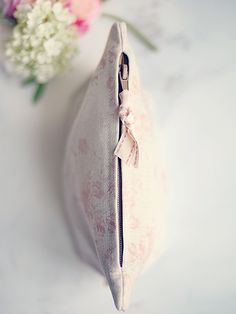 Beautiful handmade Millie Make Up Bags by Peony and Sage handmade by L&S Interiors