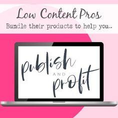 Low Content Publishing Mega Bundle Email Marketing, Affiliate Marketing, Internet Marketing, Amazon Publishing, Self Publishing, Make More Money, Make Money Online, Online Business, Author