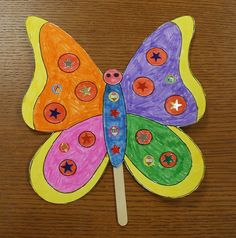 look at pattern bug book and make something from that to put on stick