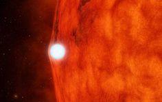 Una estrella enana blanca y una pequeña roja El espacio: http://www.rtve.es/noticias/fotos/universo/