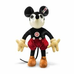 Minnie Mouse, Mickey Mouse Images, Vintage Mickey Mouse, Mickey Mouse And Friends, Vintage Disney, Disney Micky Maus, Disney Stuffed Animals, Daffy Duck, Disney Merchandise