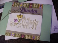 Common Greetings~Thanks card