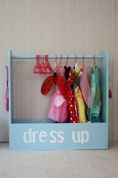 girls dress up area!