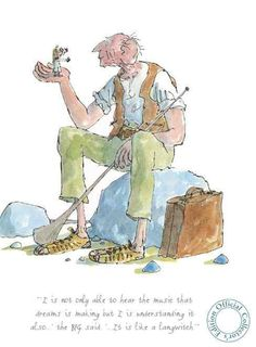 The BFG  by Roald Dahl we simply <3 it, and your kids also will ...