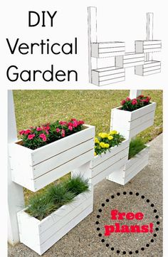 Best DIY Projects: How to Build a Vertical Planter {The Home Depot DIY Workshop} — Decor and the Dog