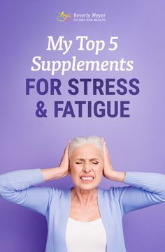 The best way to use supplements for stress and fatigue include reducing stress, overwork and lack of rest. Then add these top 5 supplements for support. Chronic Fatigue Treatment, Top Supplements, Adrenal Health, Health Fitness, Women's Health, Daily Health Tips, Hormonal Acne, Gluten Free Diet, Natural Treatments