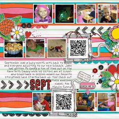 Kit: Queen of Quirk by Laura Basaniak, Template: Year in Review by Fiddle Dee Dee