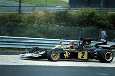 Emerson Fittipaldi, JPS Lotus-Ford 72D, 1972 German Grand Prix, Nürburgring