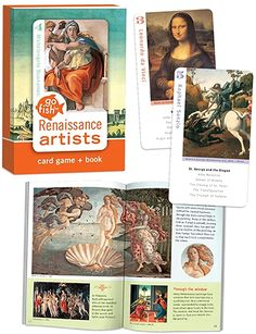 Amazon.com: Go Fish for Art Renaissance Cards Card Game: Clothing Renaissance, Card Games For Kids, Fra Angelico, Play N Go, Movie Facts, Games To Buy, Going Fishing, Disney Family, Great Movies
